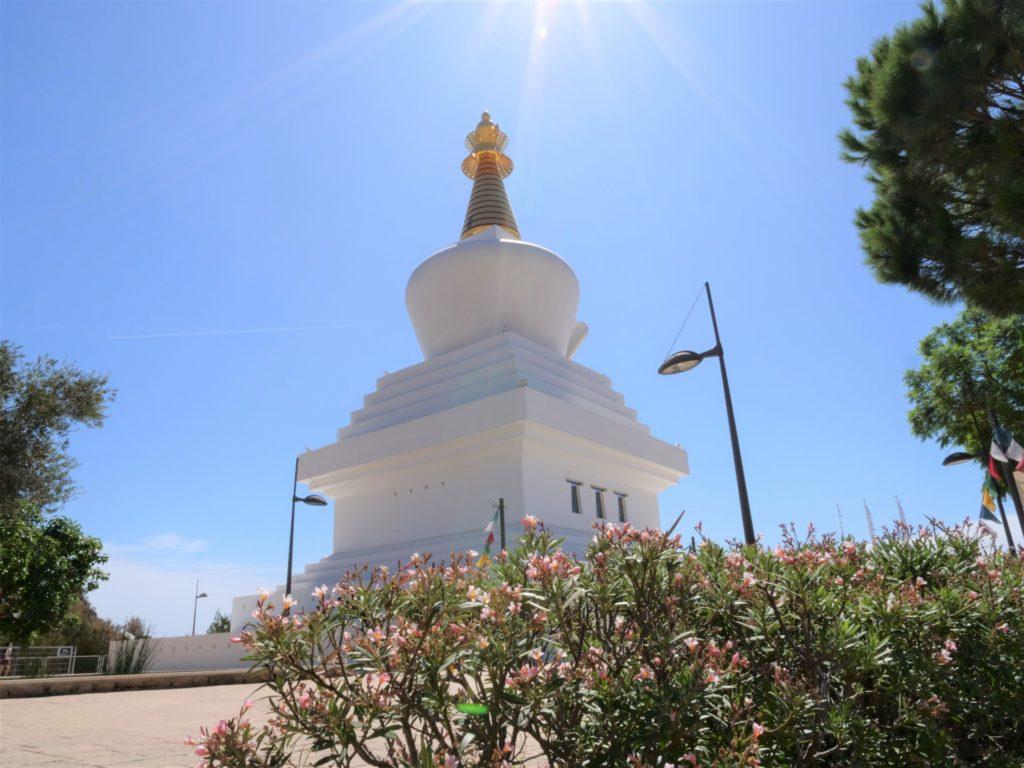 benalmadena stupa buddyjska